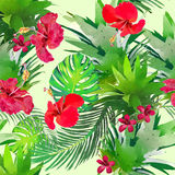 Watercolor Flower seamless Royalty Free Stock Photos