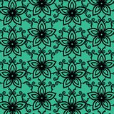 Watercolor Flower Vector Background stock illustration