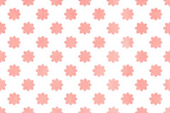 Watercolor flowers pattern. Royalty Free Stock Image