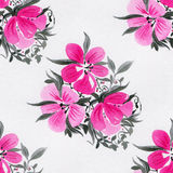 Watercolor flowers vector illustration