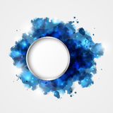 Watercolor  frame Stock Photography