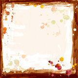 Watercolor frame stock illustration