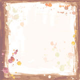 Watercolor frame Royalty Free Stock Image
