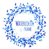 Watercolor frame Royalty Free Stock Images
