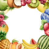 Watercolor fruit Royalty Free Stock Photo
