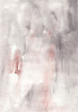 Watercolor gentle soft pastel  abstract   wash  drawing  backgro Stock Photography