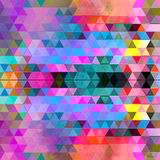 Watercolor geometric background with triangles Royalty Free Stock Image
