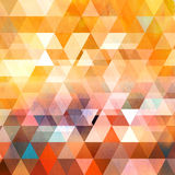 Watercolor geometric background with triangles Royalty Free Stock Photo