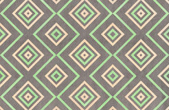 Watercolor geometrical pattern. Royalty Free Stock Photo