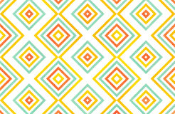 Watercolor geometrical pattern. Stock Photography