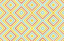 Watercolor geometrical pattern. Stock Images