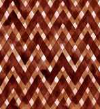 Watercolor gingham of brown colors. Seamless pattern for fabric Royalty Free Stock Photos