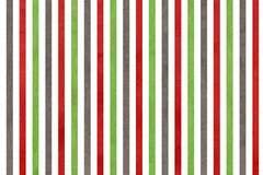Watercolor green, dark red and grey striped background. Stock Photos