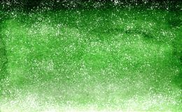 Watercolor green emerald gradient background design with dots like stars stock photos