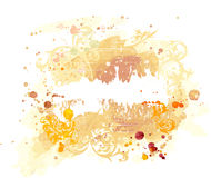 Watercolor grunge background royalty free illustration