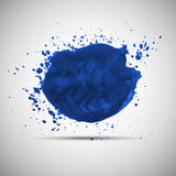 Watercolor grunge background for your design Stock Photos