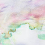 Watercolor grunge paper Royalty Free Stock Photography