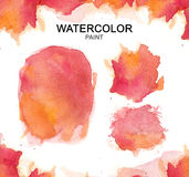Watercolor hand paint, Watercolor paint high resolution Stock Photo