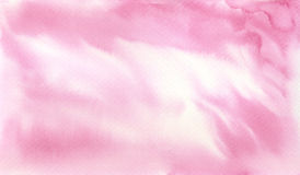 Watercolor Hand Painted Light Pink Background Texture Royalty Free Stock Photo