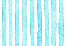 Watercolor hand painted striped background, Stock Photos
