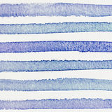 Watercolor hand painted striped background, Stock Photo