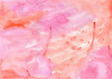 Watercolor  handiwork  wash painting colorful texture for differ Royalty Free Stock Photos