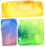 Watercolor handmade background Royalty Free Stock Image