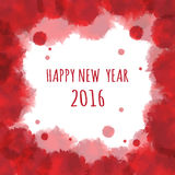 Watercolor 2016 Happy New Year background.vector. Watercolor 2016 Happy New Year background.vector Vector Illustration