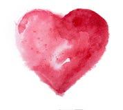 Watercolor heart. Concept - love, relationship, Stock Photos