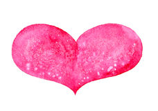 Watercolor heart Royalty Free Stock Photo