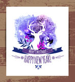 Watercolor illustration. Royalty Free Stock Images