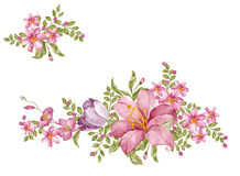 Watercolor illustration Royalty Free Stock Image