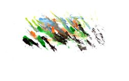 Watercolor illustrations drawn paints on white paper background. Watercolor illustrations drawn paints on white paper stock illustration