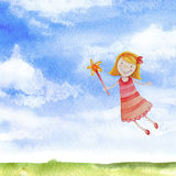 Watercolor illustrations  Royalty Free Stock Photography