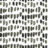 Watercolor ink black Seamless Pattern. Stock Images