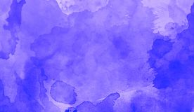Watercolor ink on blue background . Design for backgrounds, wallpapers, covers and packaging. royalty free illustration