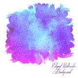 Watercolor isolated background. Royalty Free Stock Photo