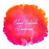 Watercolor isolated background. Stock Photography