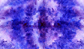 Watercolor lavender violet purple crimson floral background texture Stock Images