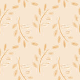 Watercolor leaves  Seamless pattern Royalty Free Stock Photography