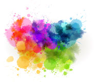 Watercolor line background Royalty Free Stock Images