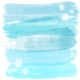 Watercolor lines background Stock Photography