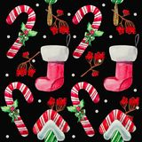 Christmas Lollipop candy Royalty Free Stock Image