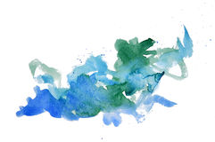 Watercolor mark Stock Image