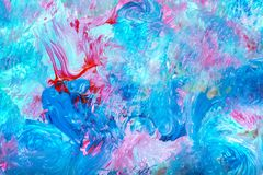 Watercolor multicolor background Royalty Free Stock Photography