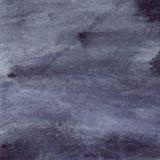 Watercolor navy blue black grey gray rain wet asphalt texture background Stock Photos