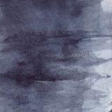 Watercolor navy blue black grey gray rain wet asphalt texture background Royalty Free Stock Photo