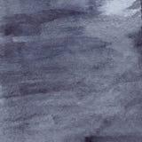 Watercolor navy blue black grey gray rain wet asphalt texture background Royalty Free Stock Image