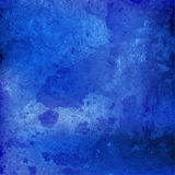 Watercolor navy blue color. Royalty Free Stock Photography