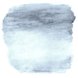 Watercolor Ombre Background. Watercolor Wash top abstract frame Royalty Free Stock Photo